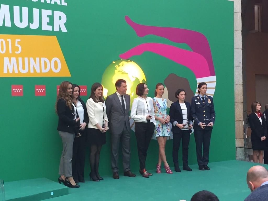 Premio Estrella a Marta Fernández Herraiz LesWorking de la Comunidad de Madrid por el Día Internacional de la Mujer 2015